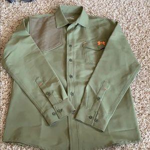 Under armour button up shirt